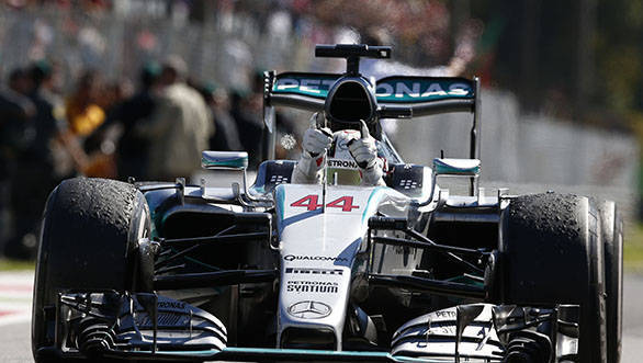F1 2015: Lewis Hamilton wins the Italian Grand Prix