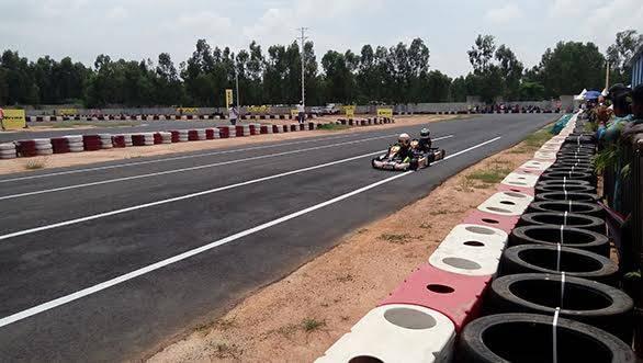 2015 JK Tyre FMSCI National Rotax Max Karting Championship 1