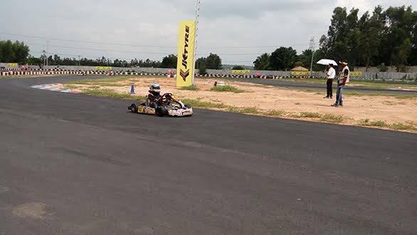 2015 JK Tyre FMSCI National Rotax Max Karting Championship 2