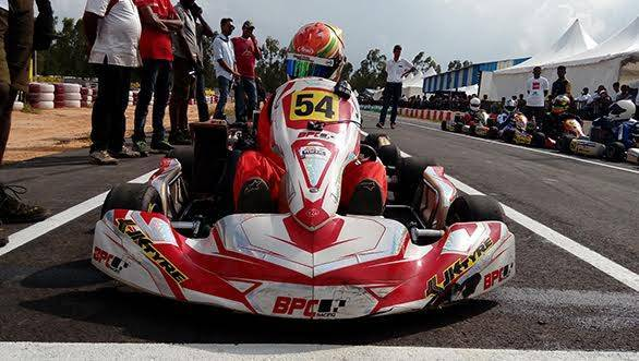 2015 JK Tyre FMSCI National Rotax Max Karting Championship: Ricky Donison wins title in the Senior Max Category
