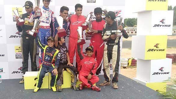 2015 JK Tyre FMSCI National Rotax Max Karting Championship