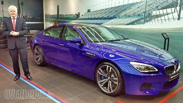 2015 BMW M6 Gran Coupe launched in India at Rs 1.71 crore