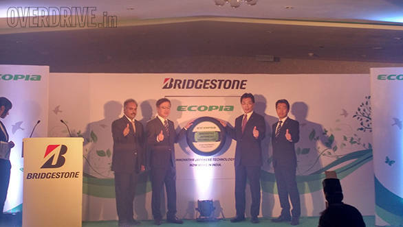 Bridgestone launches Ecopia range of tyres in India