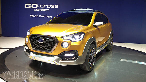 2015 Tokyo Motor Show: India bound Datsun Go-Cross concept makes debut