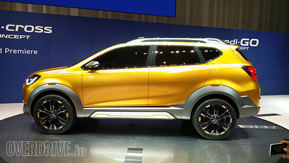 According to Datsun design head, Koji Nagano, the crossover can be modified to cater to various market requirements. That only means it can be shortened to benefit from the sub 4-metre duty cuts prevalent in India