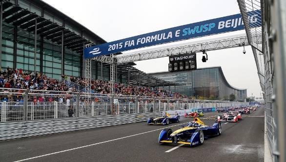 Formula E Beiking 2015 Renault e.Dam