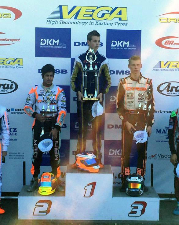 German Karting Championship Kush Maini (2)