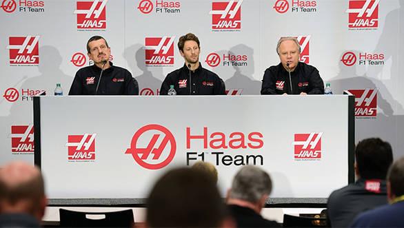 Haas F1 Team - Romain Grosjean