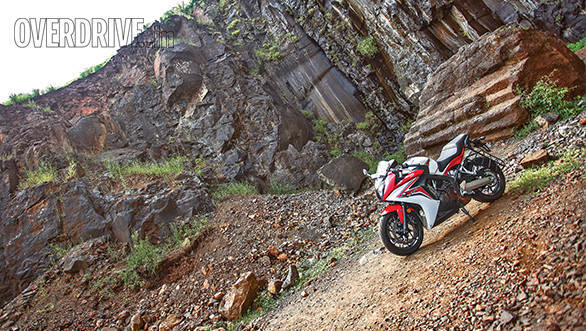 2015 Honda CBR650F road test review (India)