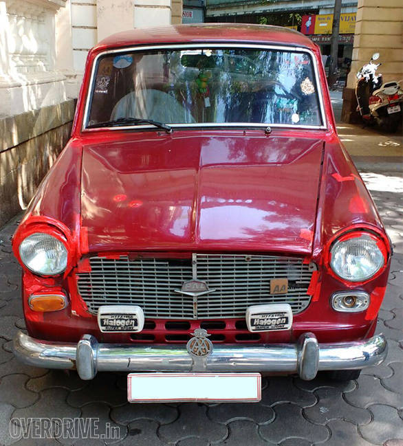Old diesel car