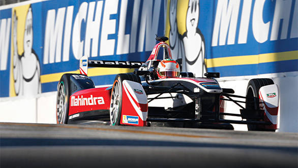 2014/2015 FIA Formula E Championship. Long Beach ePrix, Long Beach, California, United States of America. Saturday 4 April 2015 Photo: Alastair Staley/LAT/Formula E ref: Digital Image _79P0131