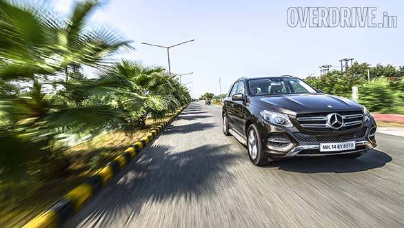2016 Mercedes-Benz GLE 350d road test review (India)
