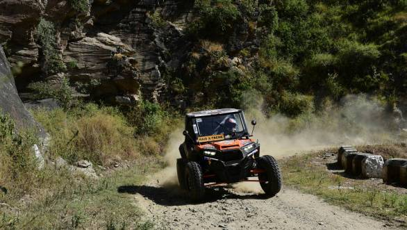Raj Singh Rathore powers through to a fine victory at the 17th edition of the Raid de Himalaya