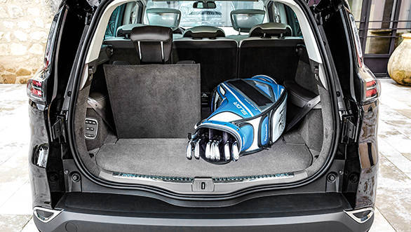 Renault Espace_boot space