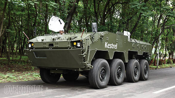Tata Kestrel: An armoured, 8×8, amphibious carrier