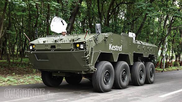 Tata Kestrel: An armoured, 8×8, amphibious carrier
