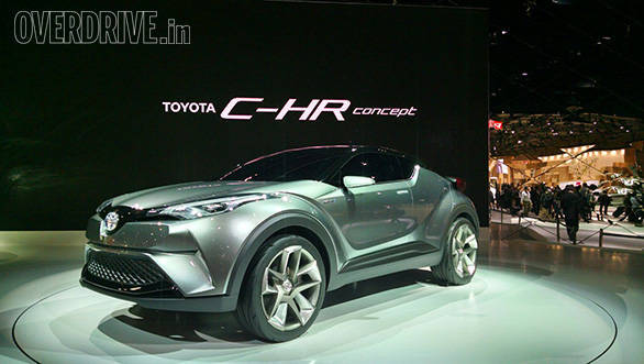2015 tokyo motor show toyota showcases the ch r hybrid crossover and the sf r sportscar. Black Bedroom Furniture Sets. Home Design Ideas