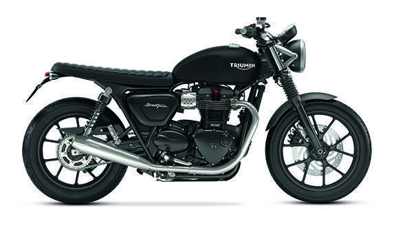 Triumph Street Twin with the Brat Tracker Inspiration Kit