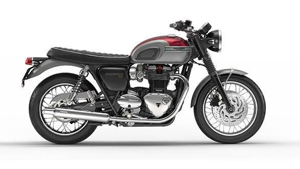 Triumph Bonneville T120 with the Prestige Inspiration Kit