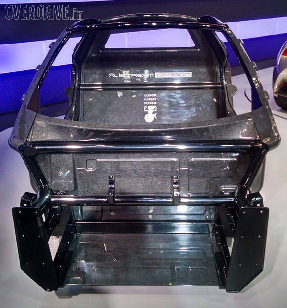 Gordon Murray's weight saving Istream carbon chassis of the Sports Ride concept