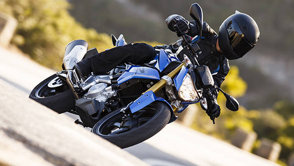 BMW say the reversed engine head configuration is part of the reason why the G 310 R will corner so well