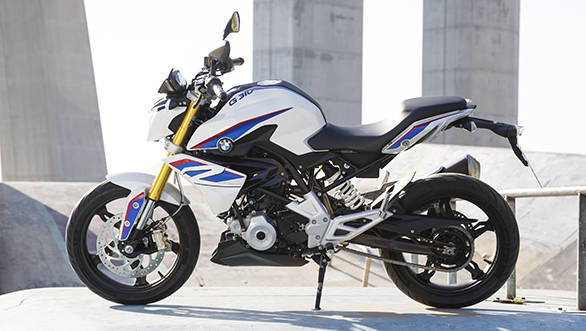 BMW G 310 R should look and feel premium thanks to detailed design work in many metal aggregates like the fork bridge and the footage subframe