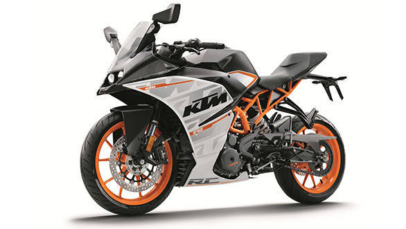 EICMA 2015: 2016 KTM RC390 unveiled