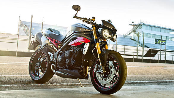 2016 Triumph Speed Triple gets comprehensive updates, traction control