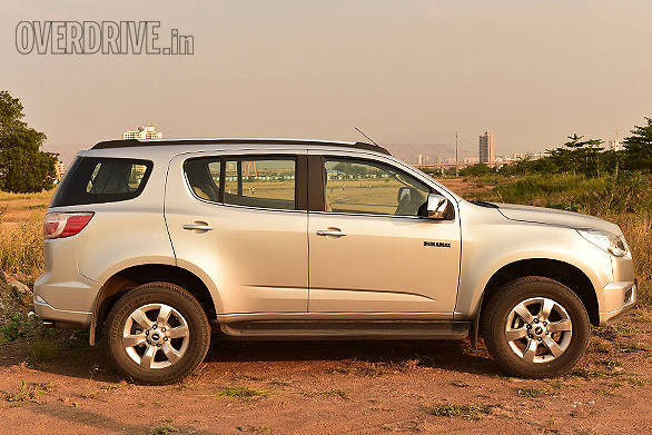 Chevrolet Trailblazer gets a ground clearance of 253mm