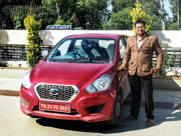 Dinesh Tiwari was the happy OVERDRIVE reader that joined us on our road trip to Kashmi