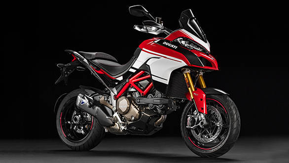 The Ducati Multistrada 1200 Pikes Peak
