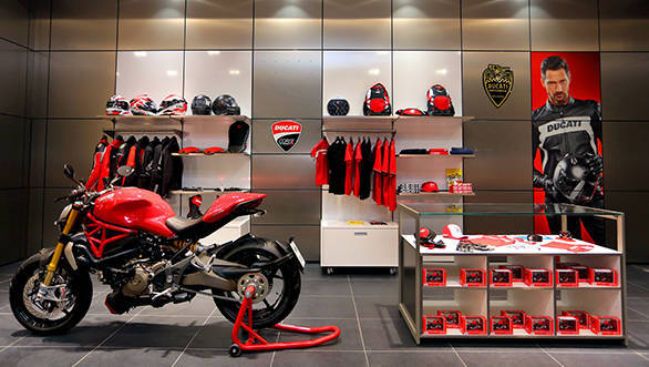 Ducati showroom Bangalore (1)