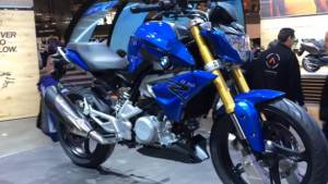 EICMA 2015 BMW G 310 R first look review by OVERDRIVE - Video