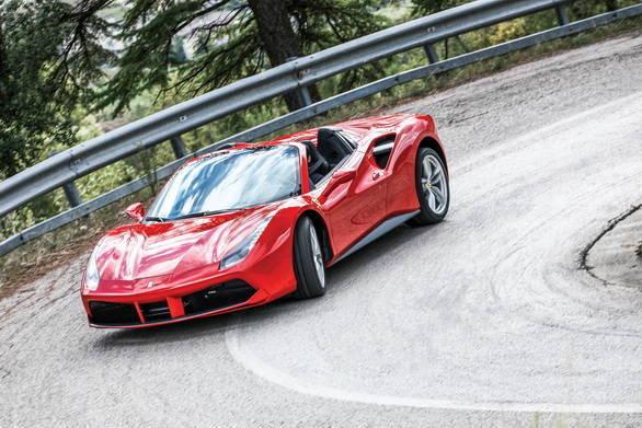 Ferrari 488 Spider Red_7