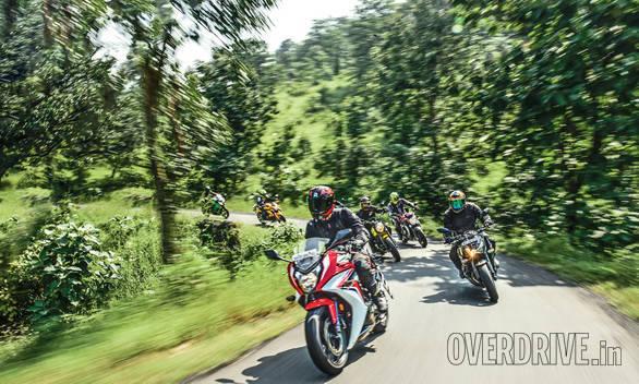 Honda CBR650F vs MV Augsta Brutale 800 vs Kawasaki Ninja 650 vs Kawasaki Z800 vs Ducati Scrambler vs Benelli TNT 600i vs Triumph Street Triple_33