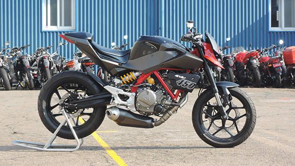 EICMA 2015: Hyosung GD450 prototype unveiled