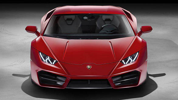 Lamborghini Huracán LP580-2 to be launched in India today