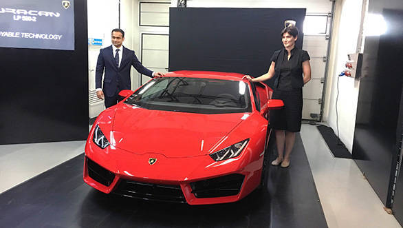 Lamborghini Huracán LP580-2 launched in India at Rs 2.99 crore