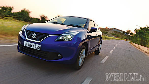Image of the regular Baleno used for reference