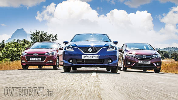 Comparo: Maruti Suzuki Baleno vs Hyundai Elite i20 vs Honda Jazz