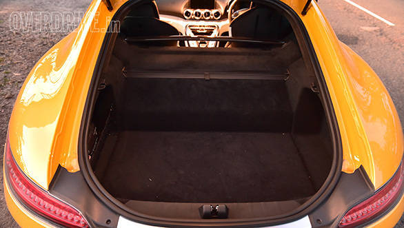 Not that impractical a sportscar with its 285-litre boot space. Can easily swallow a weekend's worth of luggage