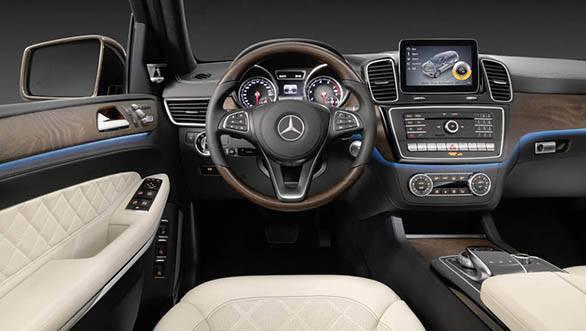 Mercedes-Benz GLS, (X 166), FL 2015