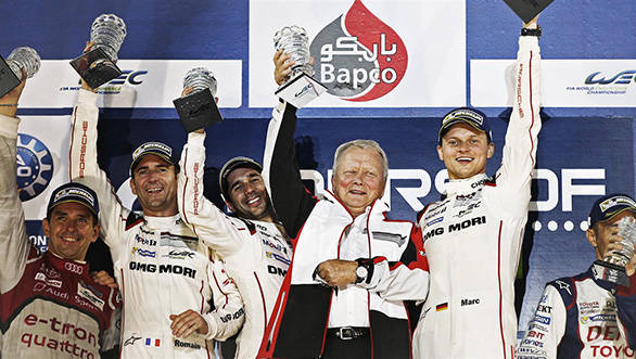 World Endurance Championship 2015: Porsche wins the drivers' title in LMP1