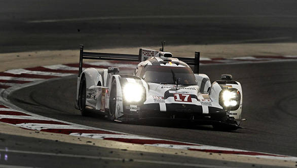 World Endurance Championship 2015: Porsche claims pole position in LMP1 category during qualifying at Bahrain