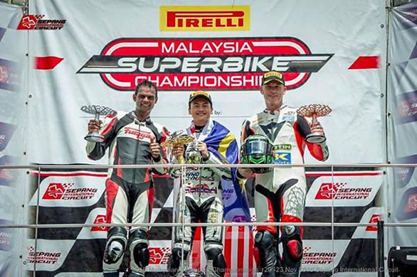 Pirelli Malaysian Superbike Championship 2015: Rajini K bags championship