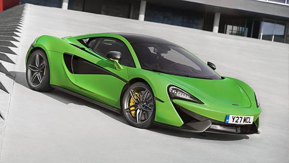 McLaren begins production of the 570S