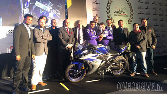 Indian Motorcycle of the Year 2016 jury members pose with all the bikes launched in 2015 that were in contention for the IMOTY. The jury was led by Aspi Bhathena, editor, Bike India. Other members include OVERDRIVE's executive editor, Shumi and road test editor, Halley Prabhakar, Rahul Ghosh (Auto Today), Arup Das and Jared Solomon (AutoX), Aninda Sardar (Bike India), Abhinav Mishra (BBC TopGear), Sirish Chandran and Ouseph Chacko (Evo), Pablo Chatterji (Man's World) and Kartik Ware (Motoring World)