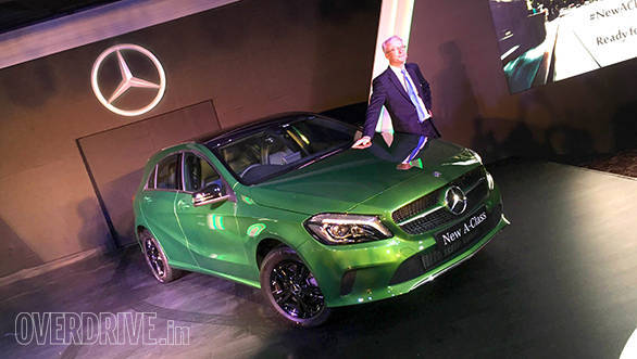 2016 Mercedes-Benz A-Class (facelift) launched in India at Rs 24.95 lakh