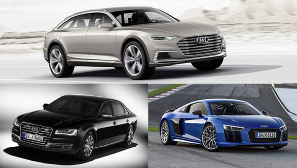 Auto Expo 2016: Audi to showcase the new R8, A8L and Prologue concept