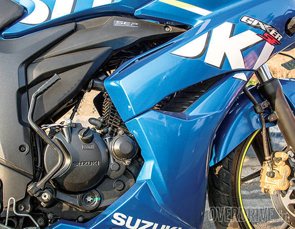 Suzuki's engine is smooth  and punchy. Not as efficient though
